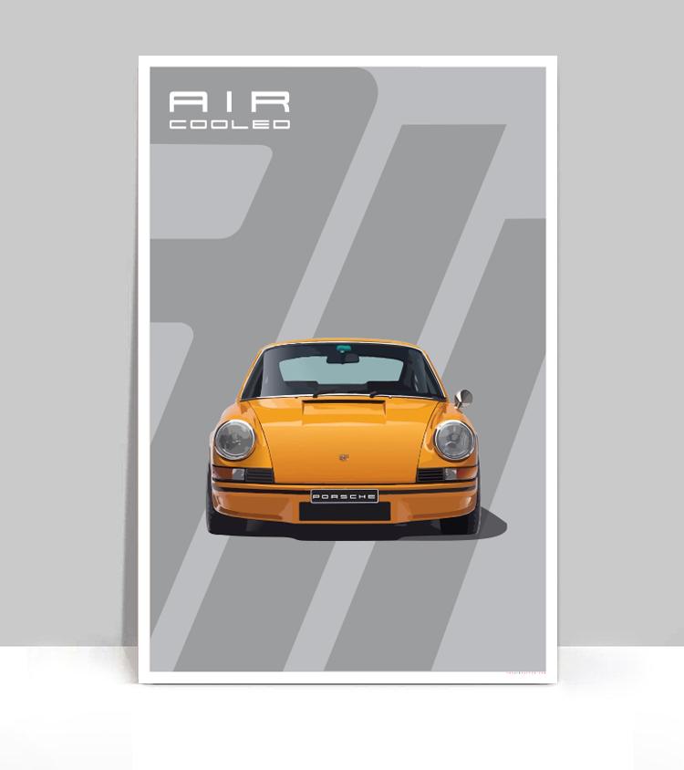 air factor signal orange porsche 911