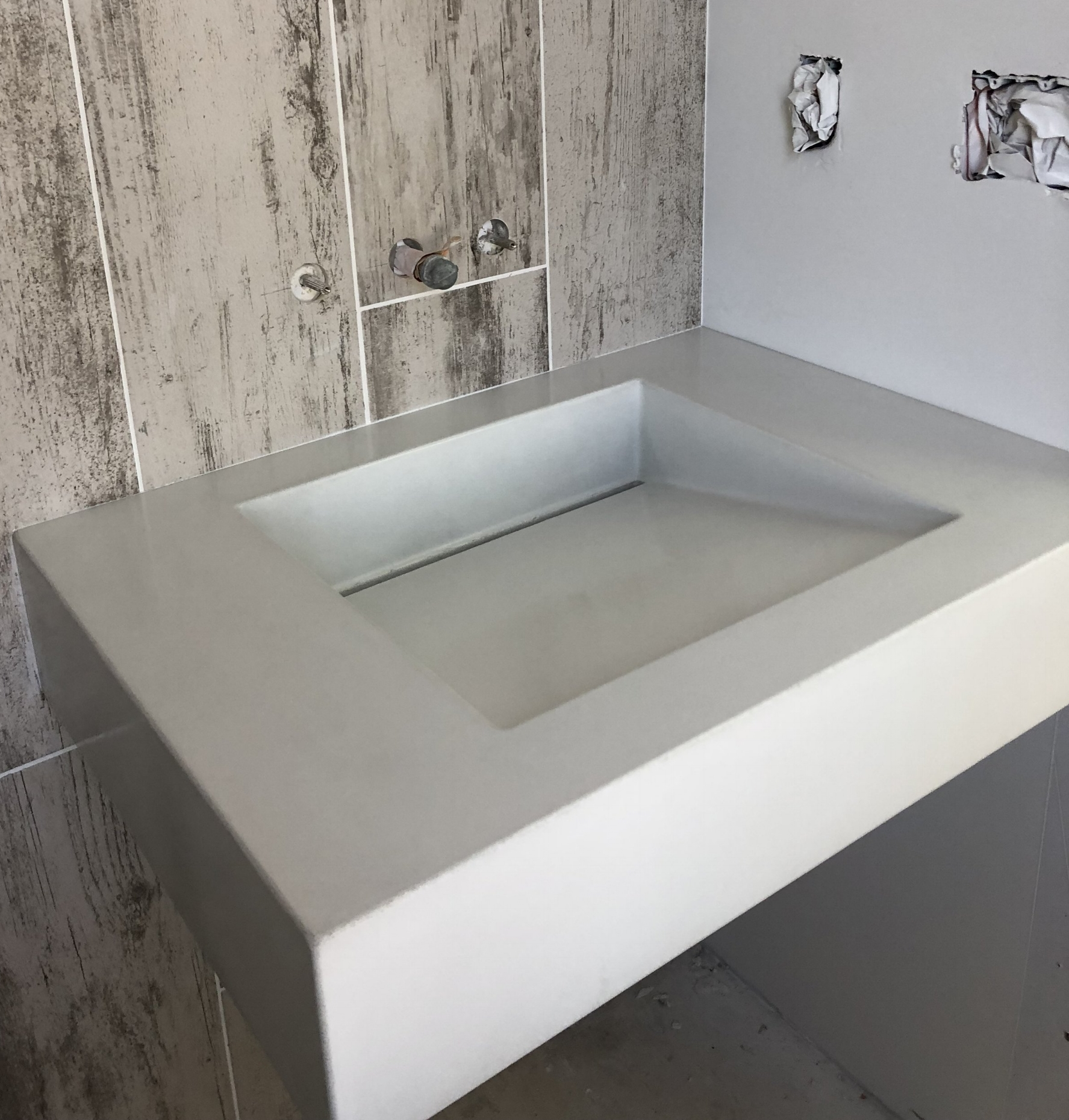 concrete sink ramp made to order opusconcrete