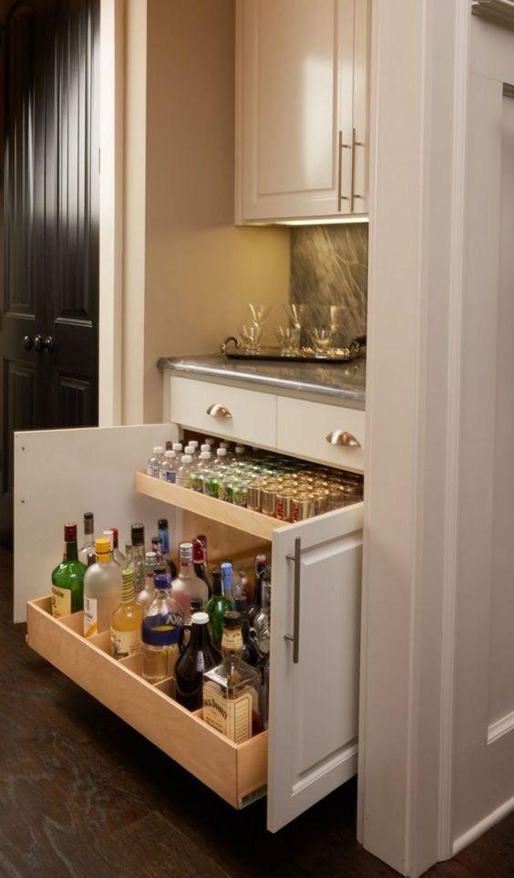 35 Outstanding Home Bar Ideas And Designs — Renoguide Australian   Bar Under The Stairs Design   Living Room   Stair Storage   Interior Design   Wine Cellar   Storage