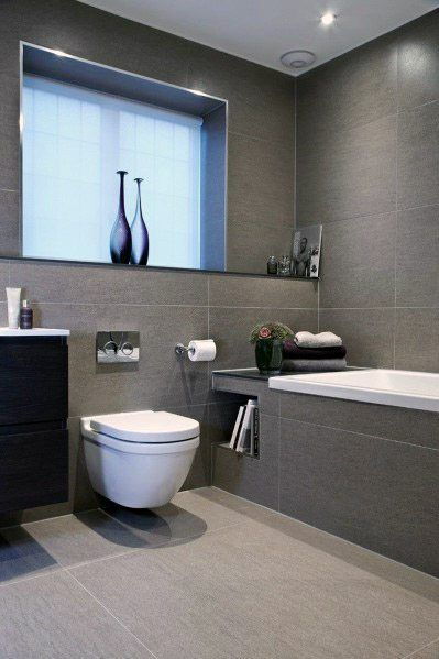 40 modern bathroom tile designs and