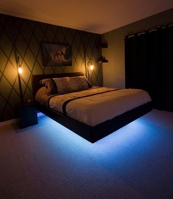 35 creative bedroom mood lighting ideas