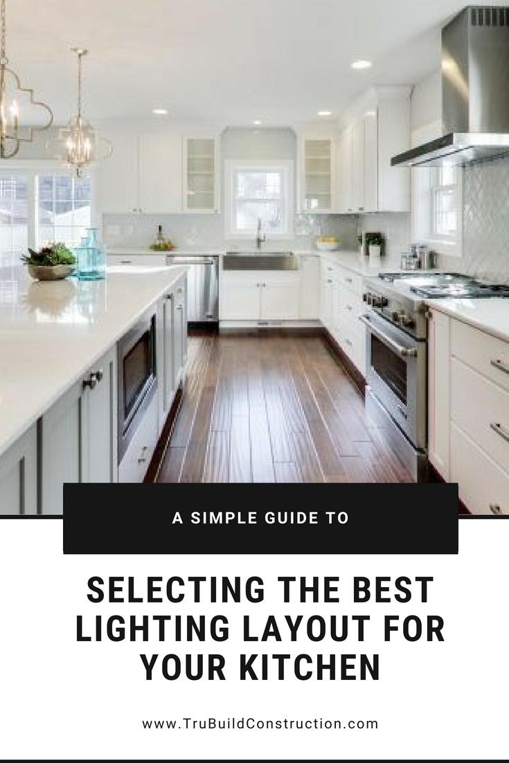 best kitchen lighting layout