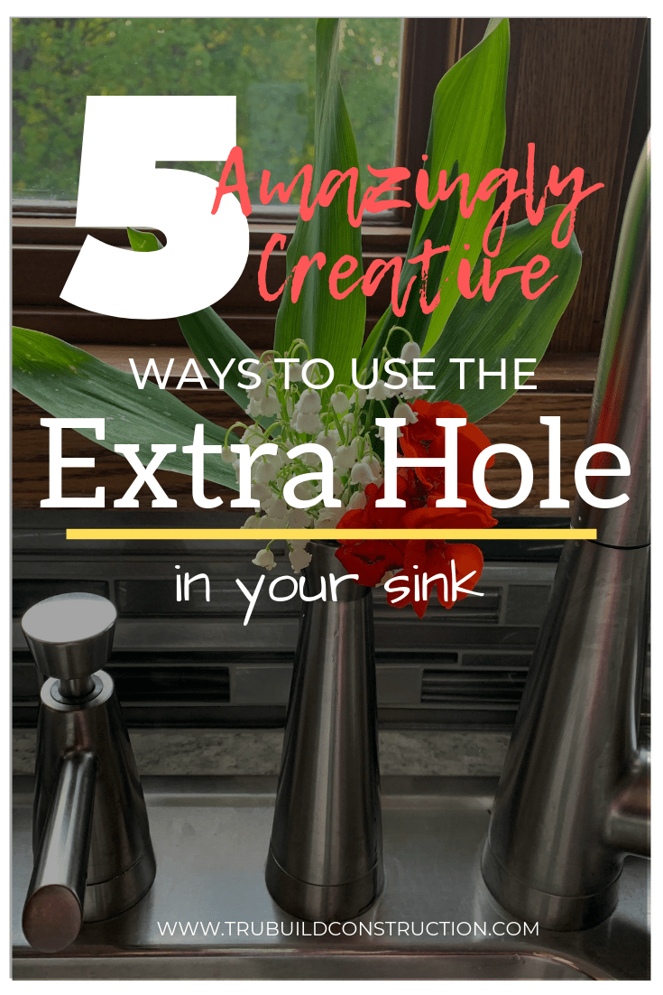 the extra hole in your sink