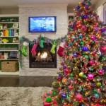 Colorful Christmas Tour Grand Rapids Interior Design Fuchsia Design