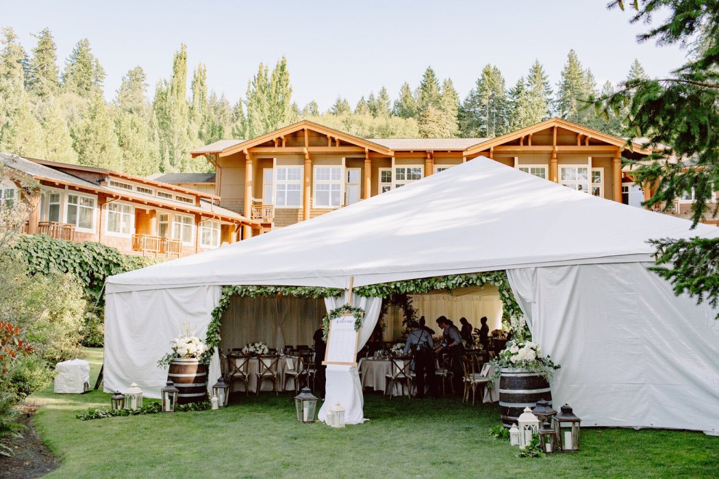 Tented Wedding Ceremony and Reception Tips