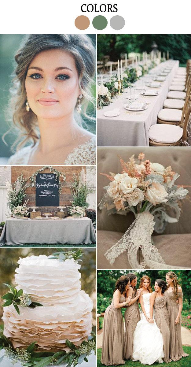 Dried Herb: Pantones Fall Wedding Color Inspiration