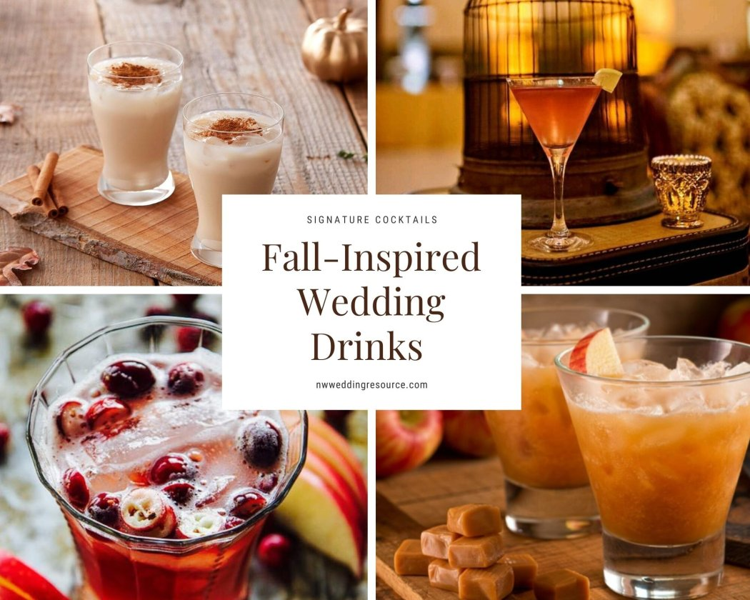 Fall Inspired Signature Drinks to Serve During Cocktail Hour