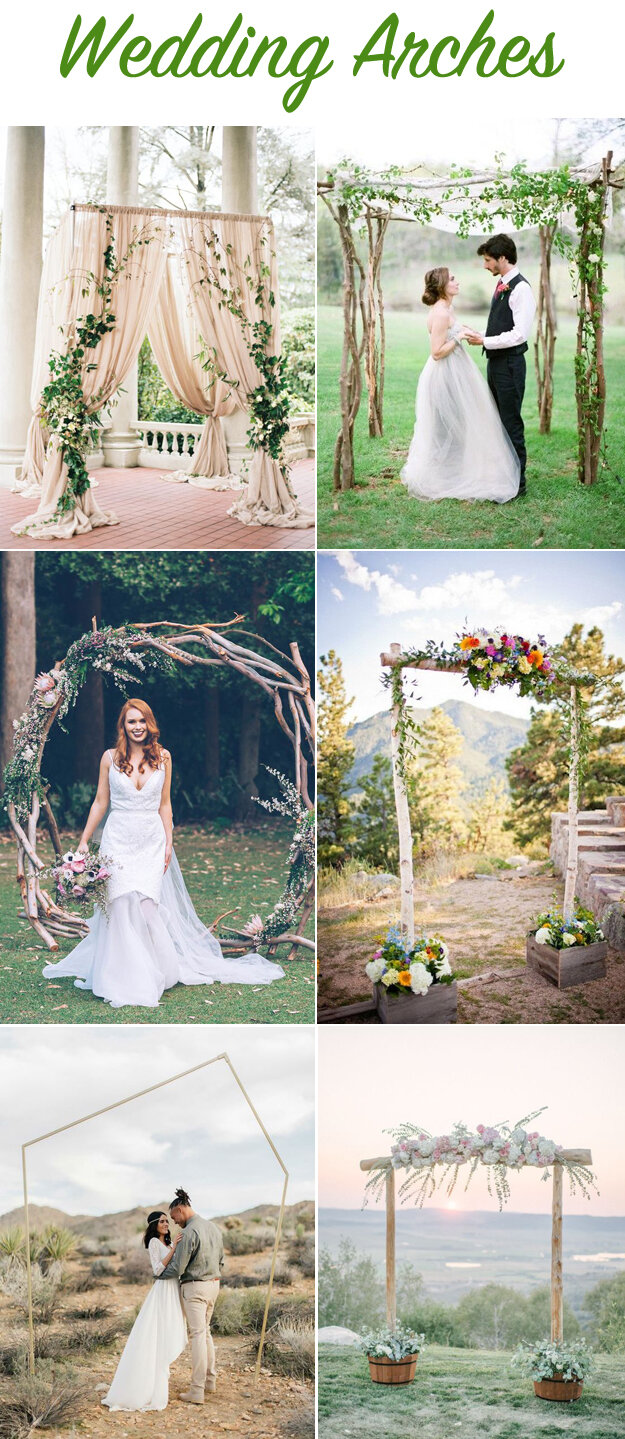 6 Wedding Arches That Will Wow Your Guests