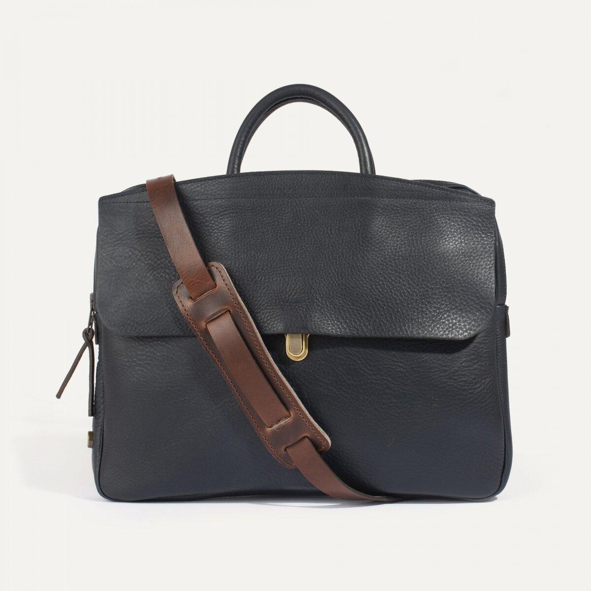 Bleu De Chauffe Leather Bags Calame Palma