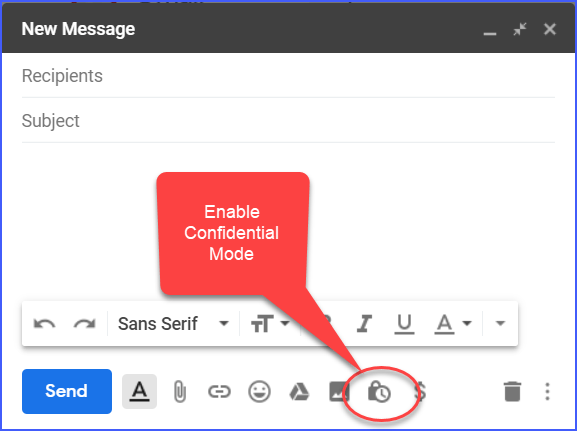 Gmail- The Confidential Mode