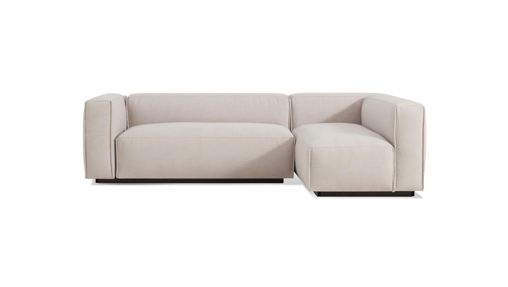 cleon small sectional sofa by blu dot hub modern home giftpost hub modern home gift