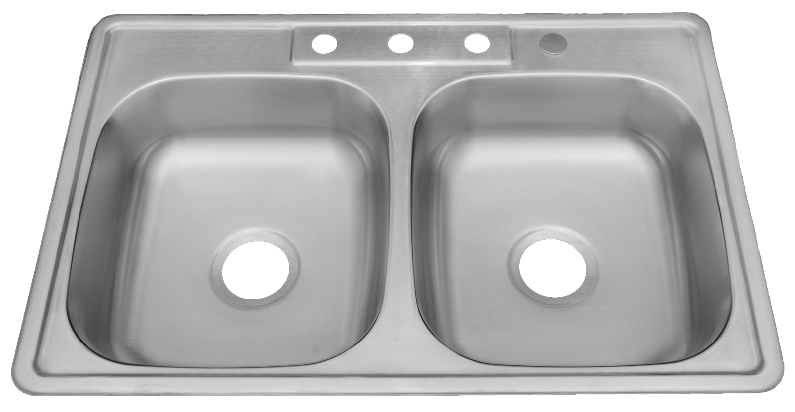 ada compliant 22 gauge stainless steel 4 hole drop in sink 50 50 double bowl blue pearl stone