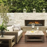 On Trend Outdoor Fireplaces Mccabe House