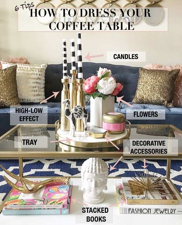 how to style your coffee table the