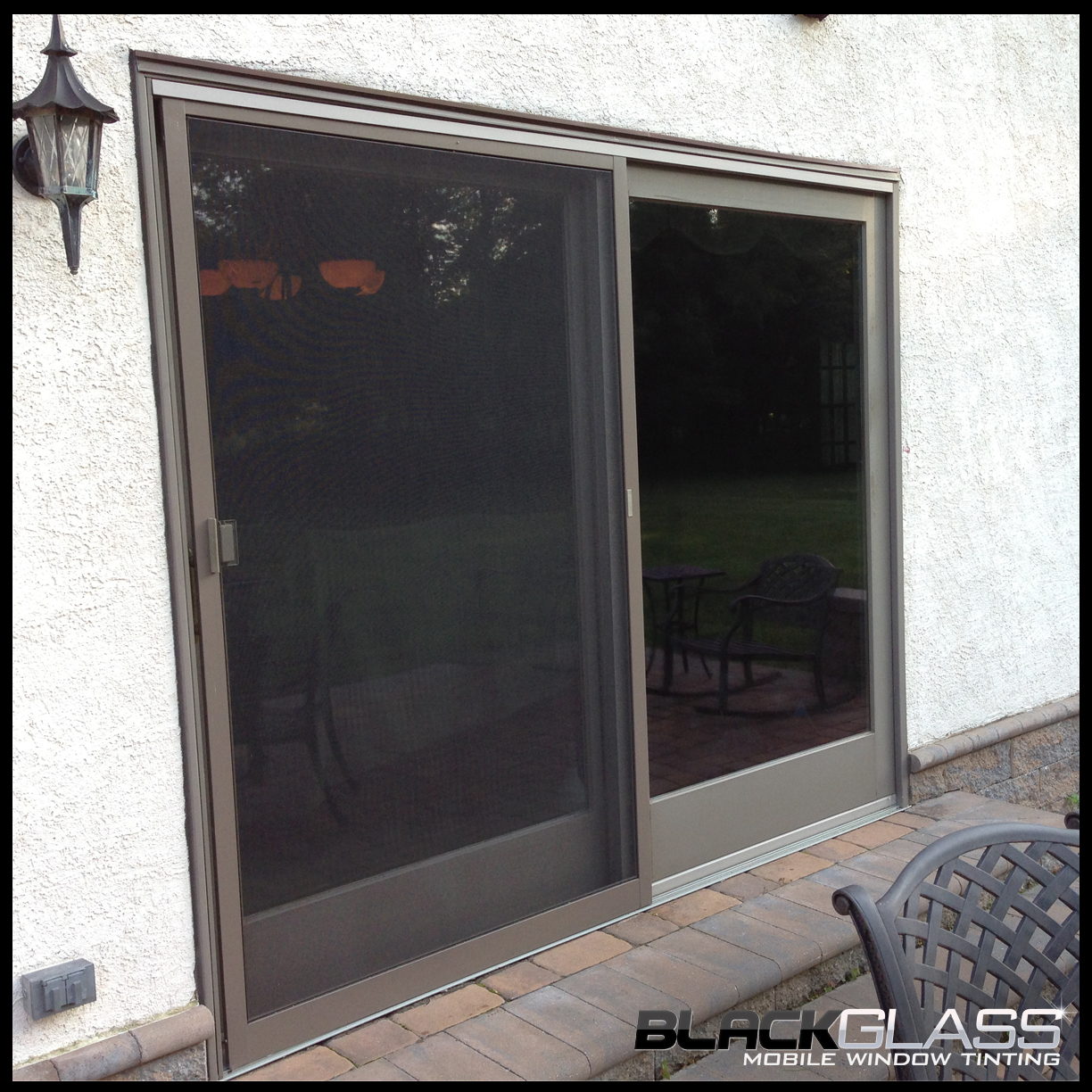 glass window tinting residential