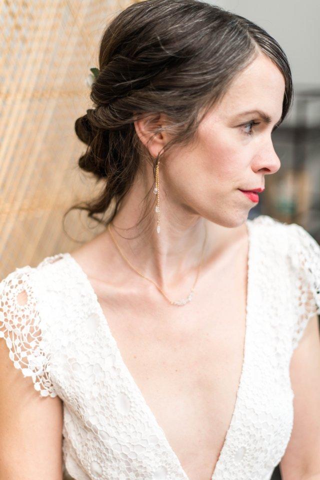 bohemian bridal — jennifer kahn jewelry