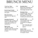 Brunch Menu Old Dog Tavern Restaurant Bar Food Drinks Live Music Kalamazoo Michigan