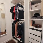 Small Master Bedroom Closet Makeover Ikea Pax Closet Completed Katrina Blair Interior Design Small Home Style Modern Livingkatrina Blair