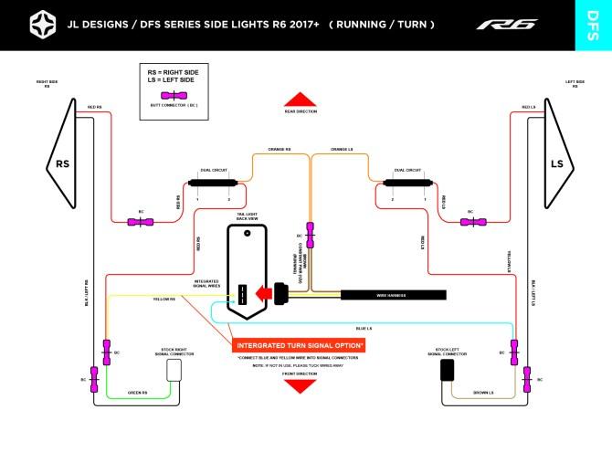 install — jl designs  custom parts  tail light / fender