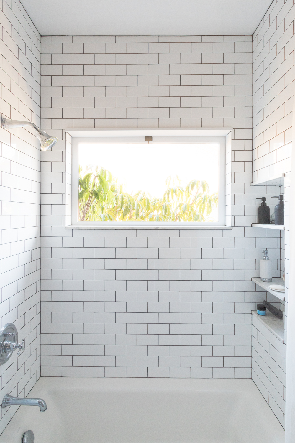classic tile in the bathroom the