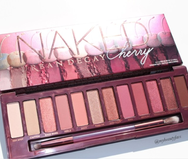 Urban Decay Naked Cherry Eyeshadow Palette Review Photos And