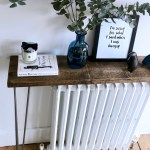 The Grown Up Edit Diy Hack Hairpin Leg Console Table