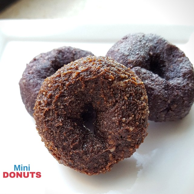 Go nuts for donuts! Made from fruit and nuts, this recipe won't bog you down before the big BBQ.