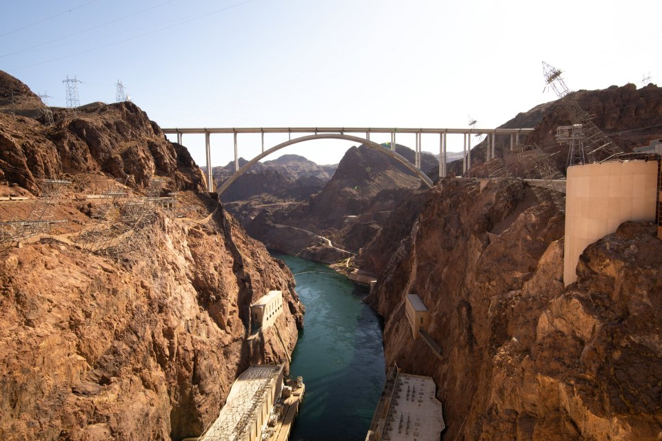 Pictures from on top of The Hoover Dam | The Hoover Dam | OUR 4 DAY LAS VEGAS TRIP | J.B. TOLS