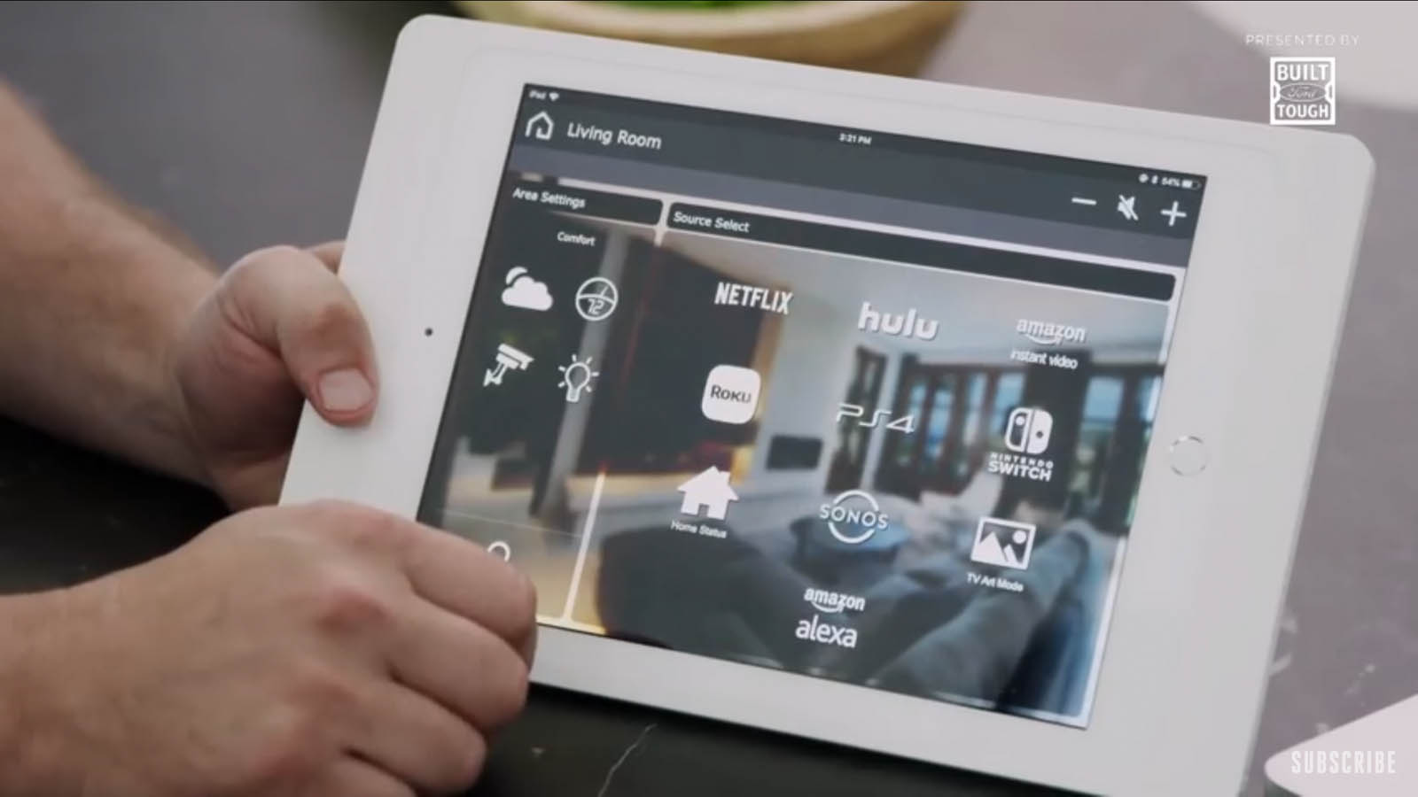 smart home lighting control automation