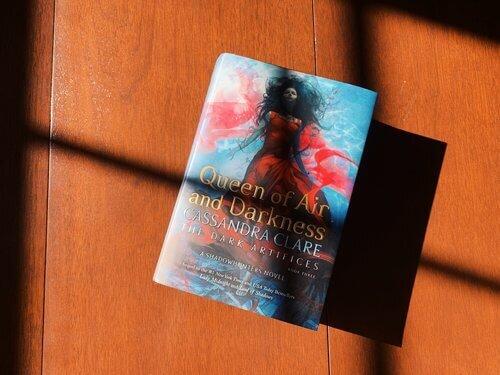 Queen of Air and Darkness by Cassandra Clare, Book Three in the Dark Artifices Trilogy