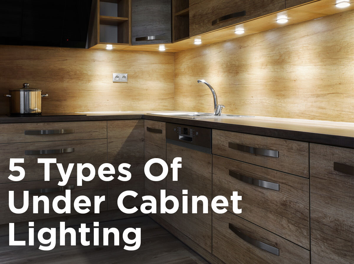 under cabinet lighting pros cons