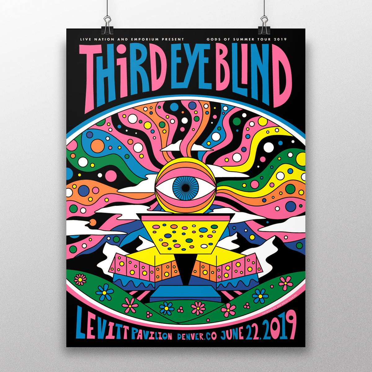 third eye blind levitt pavilion denver co add noise studios