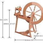 Ashford Traditional Spinning Wheel Fiber To Yarn