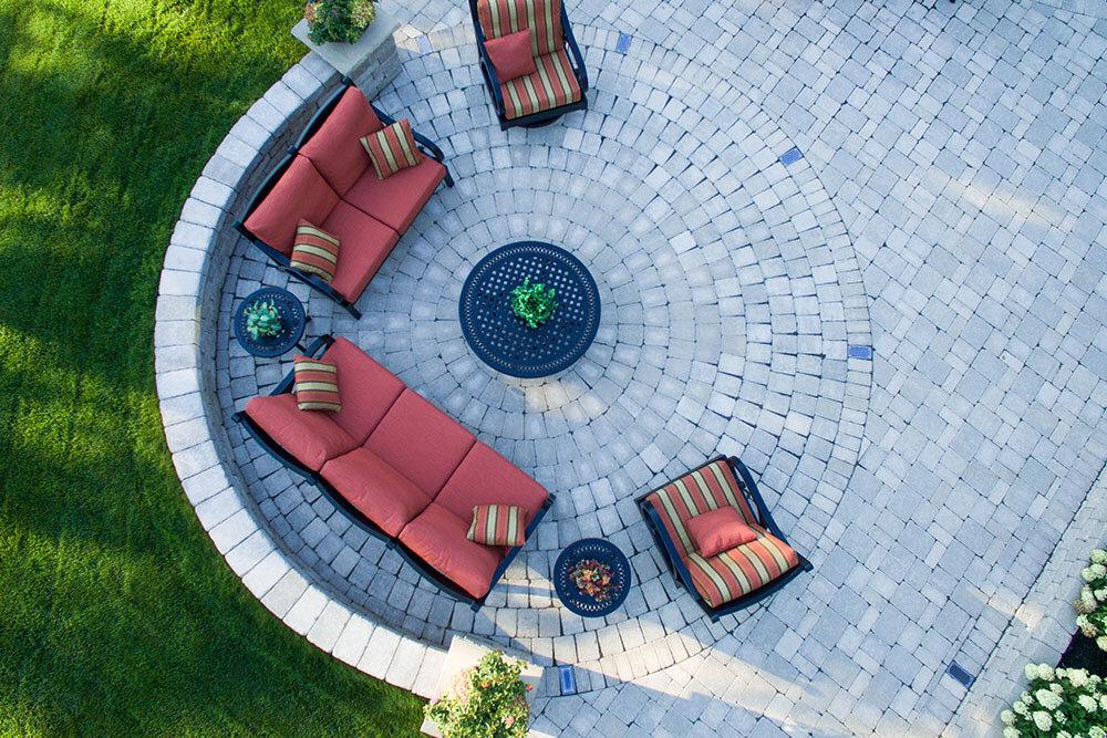 roman circle kit whitemud landscape