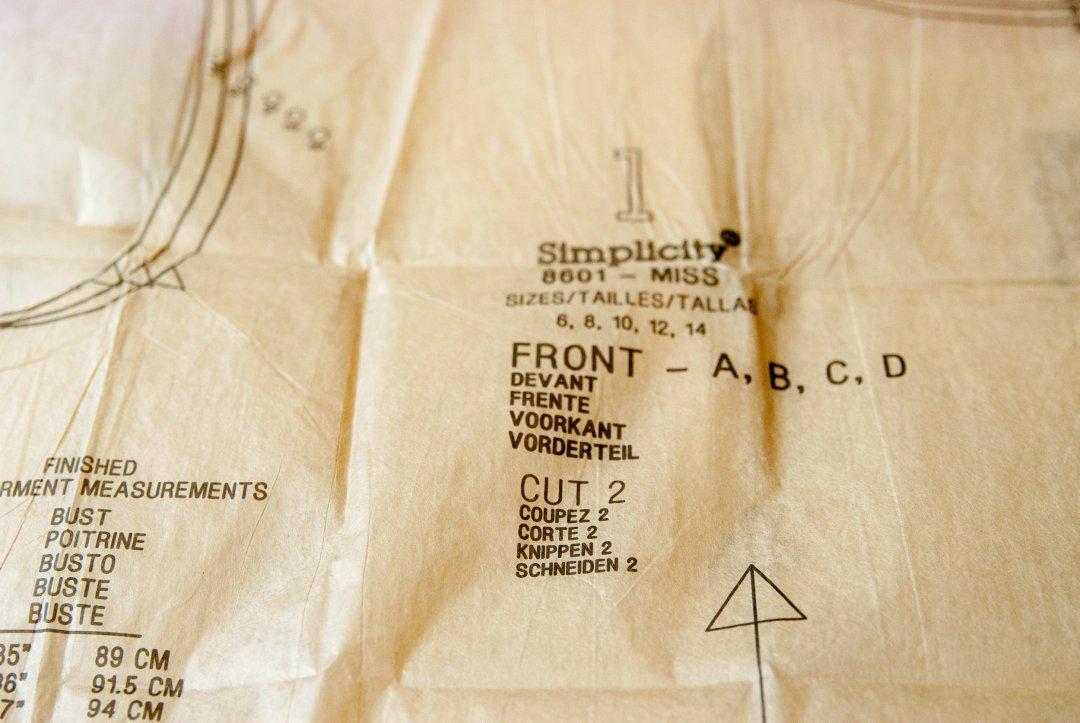 Reading sewing patterns by www.pincutsewstudio.com