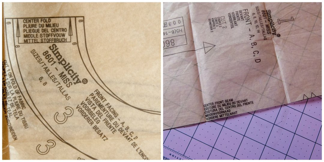 How to cut out sewing patterns by www.pincutsewstudio.com