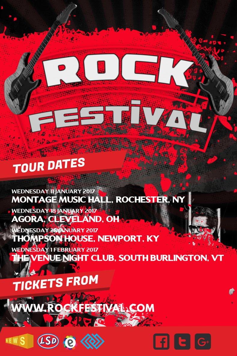 Rock music schedule
