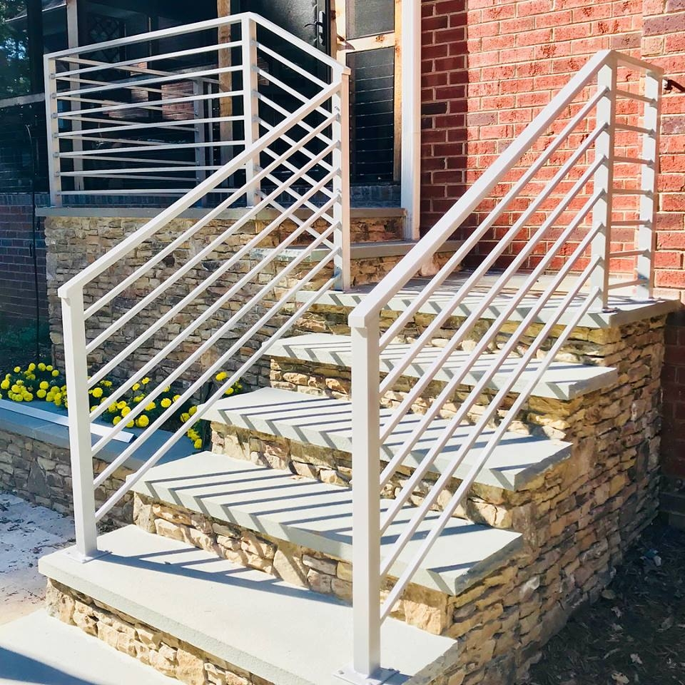 Master Fabrication — Wrought Iron Stair Railings Charlotte Nc   Exterior Wrought Iron Railing Cost   Iron Stair Railings   Metal   Staircase   Stainless Steel   Deck Railing