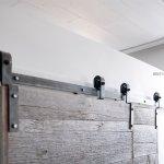 Single Track Bypass Hardware Barn Door Hardware Custom Doors And Furniture