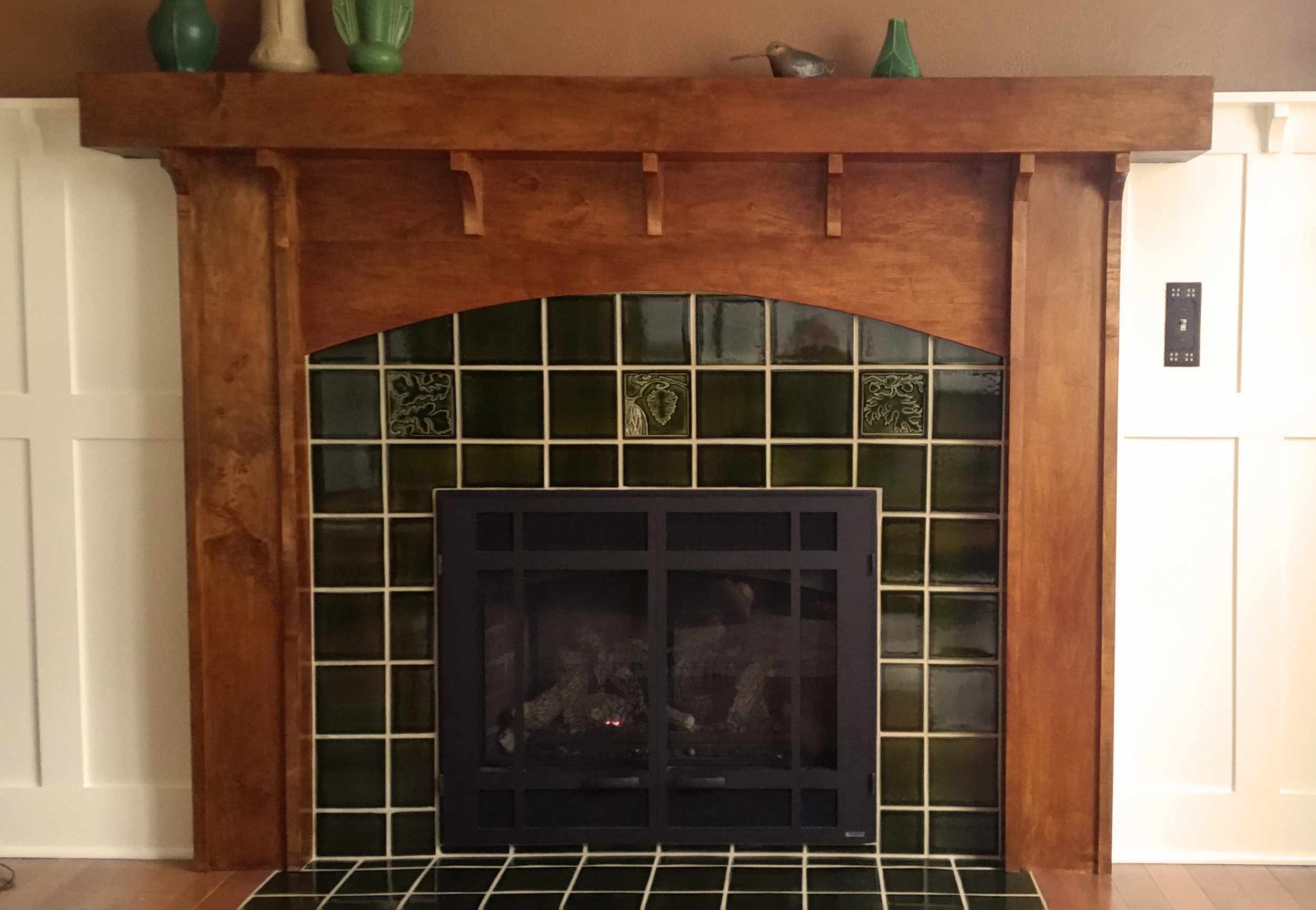 arts and crafts tile