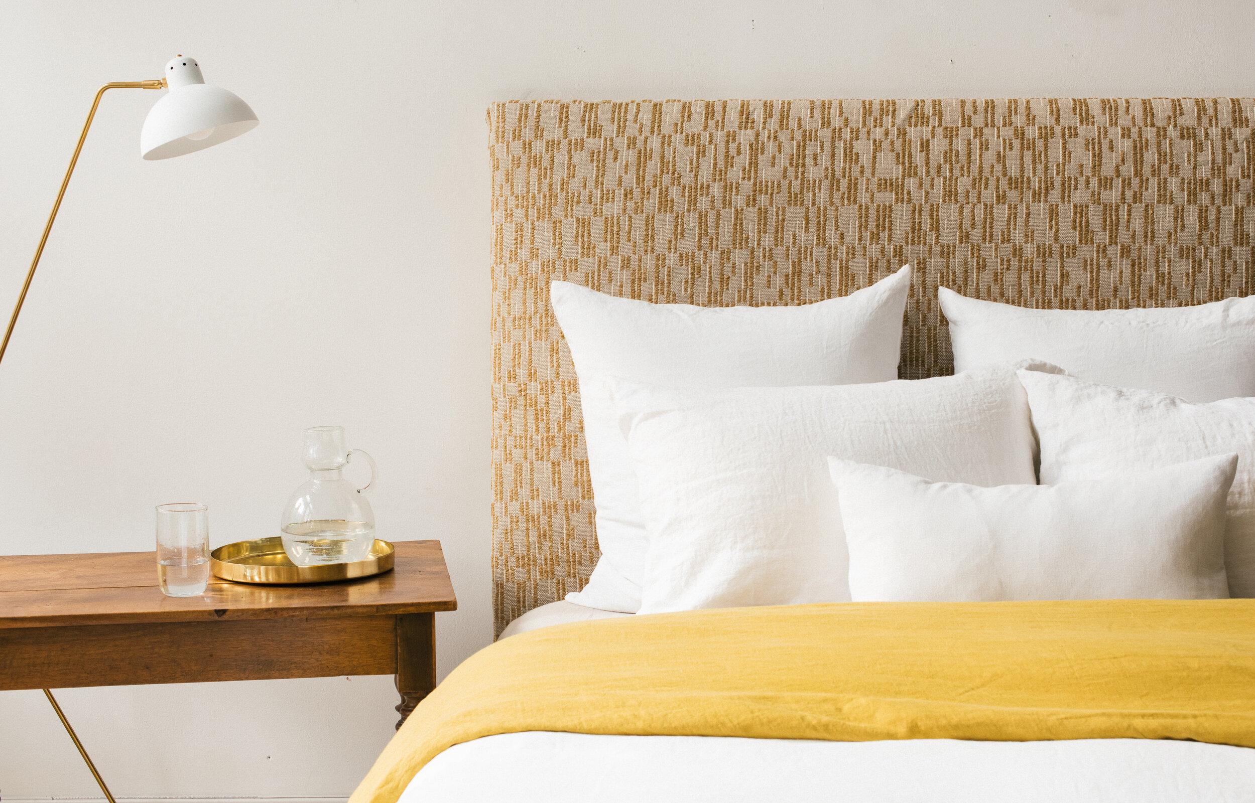 white linen pillow set of 2 sunday shop