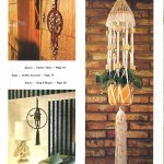 To Knot Or Not To Knot Book 70s Macrame Plant Hanger Pattern Booklet Starshop Vintage