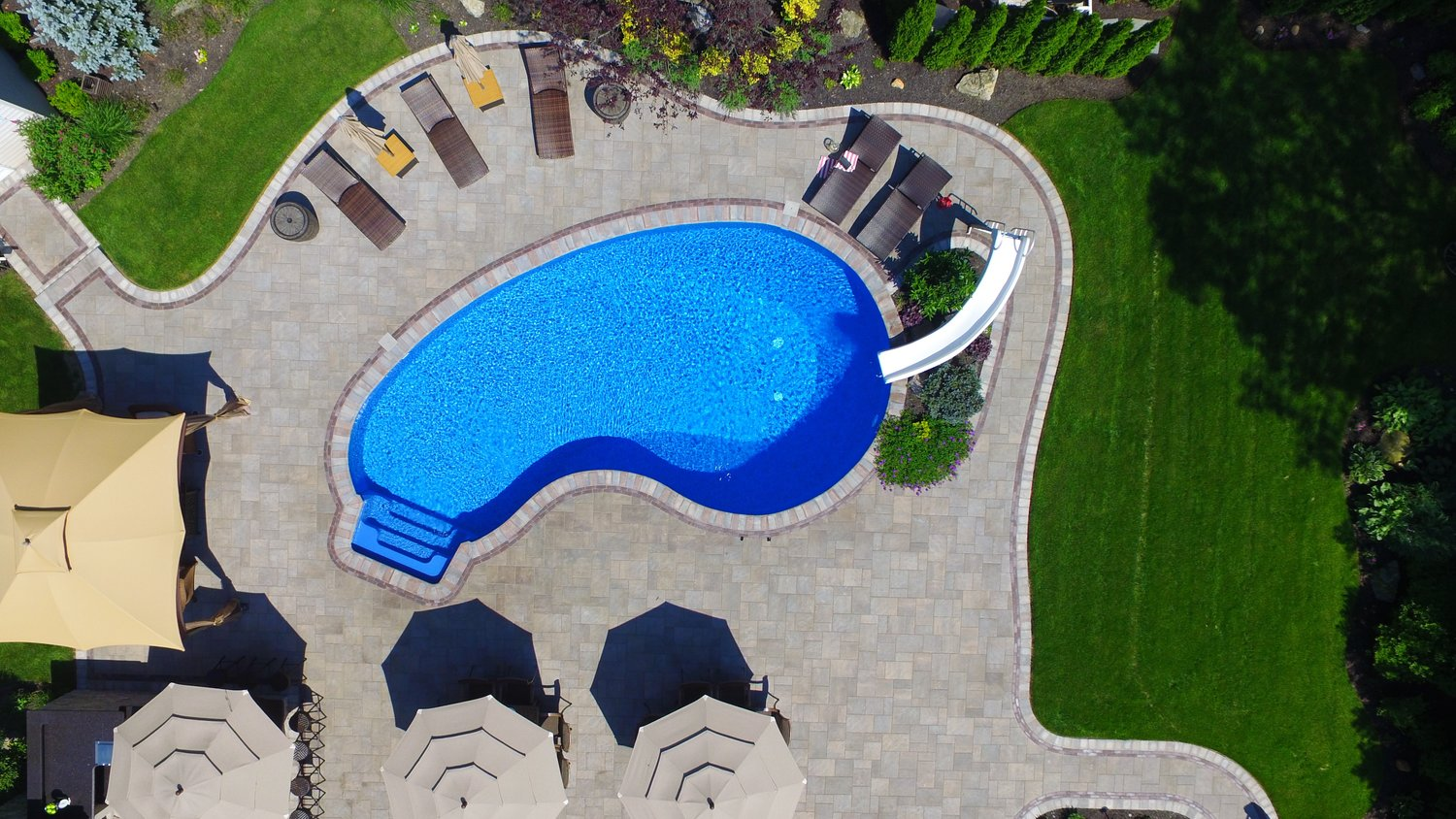 beach style pool patio for your ny backyard