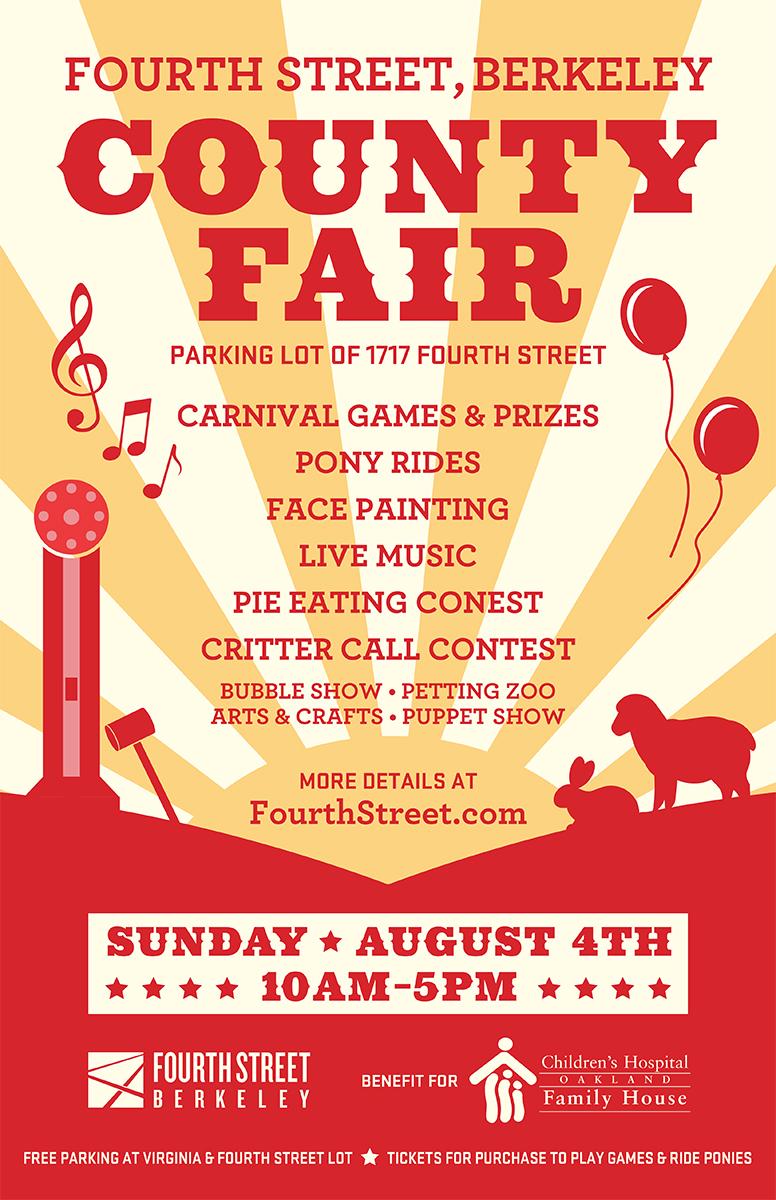 Fourth Street Fair Poster