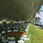 White Plastic Folding Chairs Big Island Tents