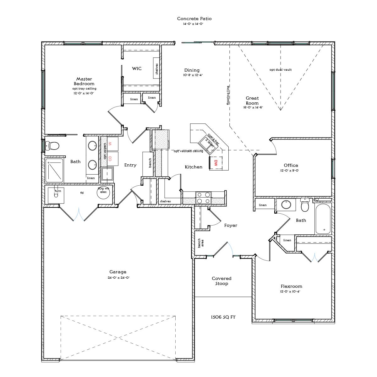 floor plans berscheid builders