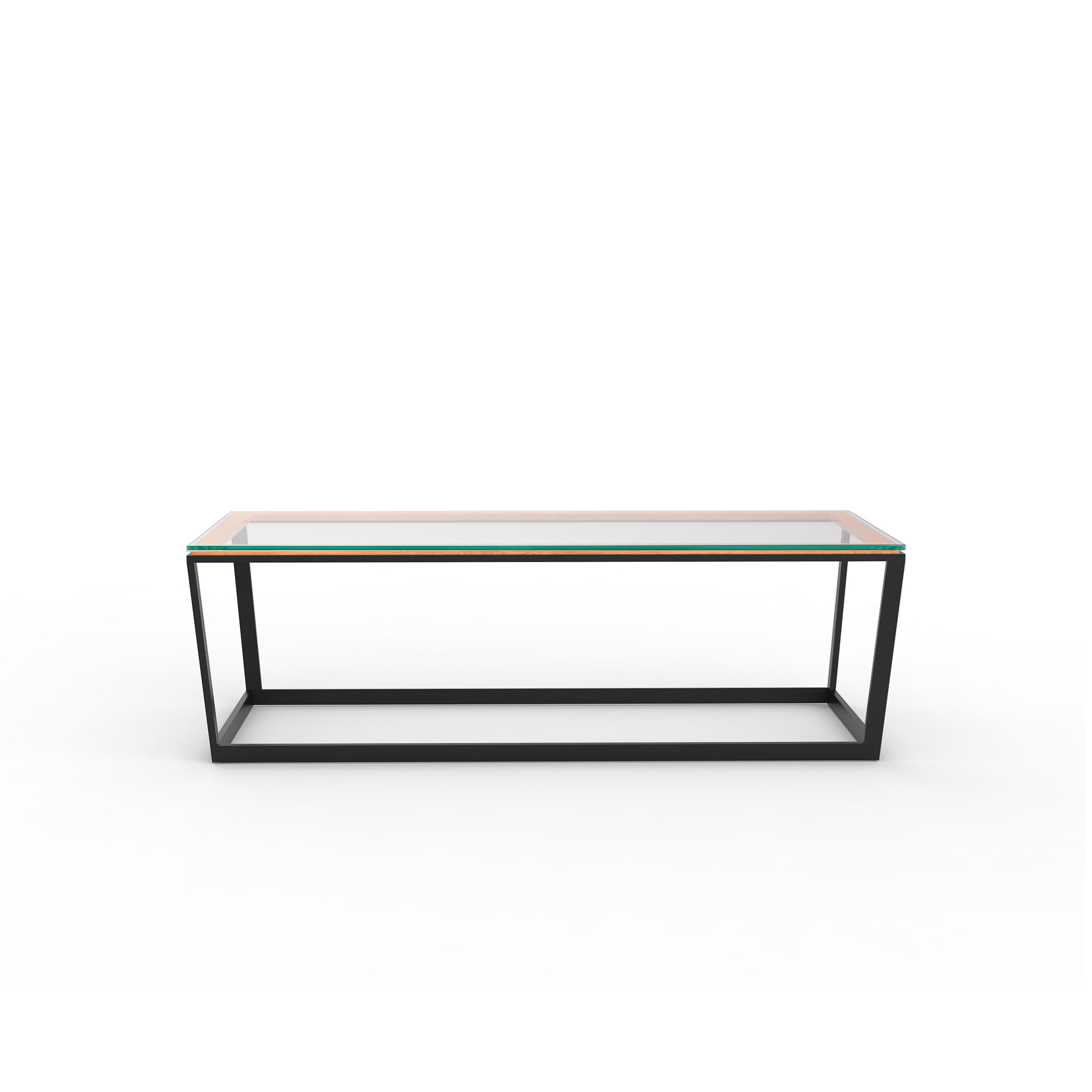 frame coffee table small rectangle iacoli mcallister