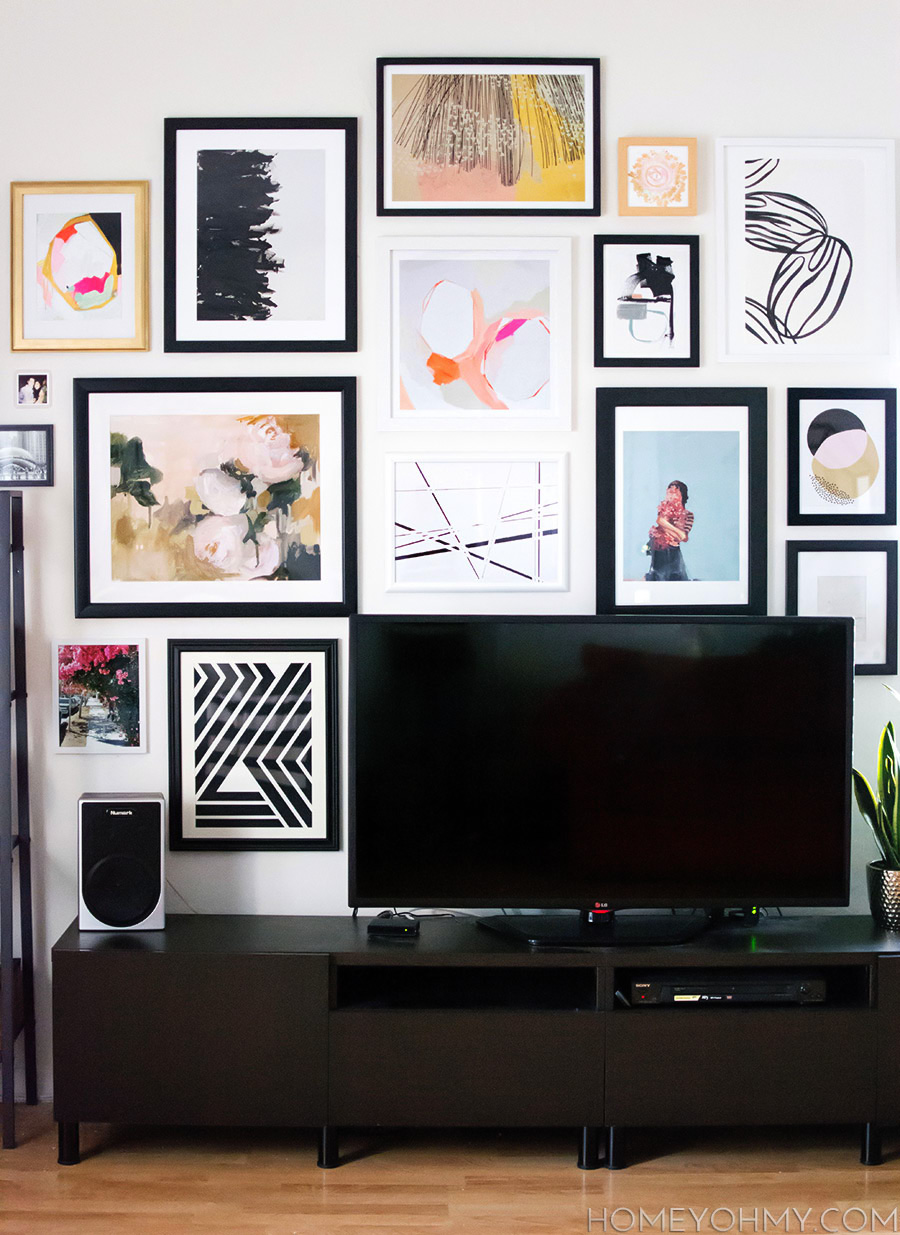 The Ultimate Guide To Decorating A Tv Wall Jessica Devlin