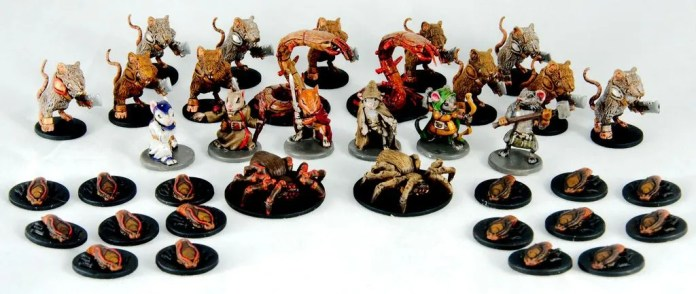 Kirk Bauer painted miniatures