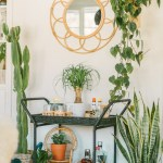 How To Style A Bar Cart Black Blooms